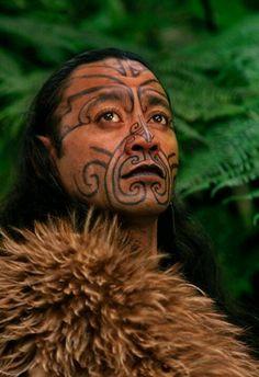 Maori man, Rotorua #New Zealand