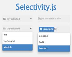 Selectivity – Modular & Lightweight Selection Library for jQuery #jQuery #zepto #select #selectlist #multiple #ff #lightweight #multipleSelect