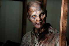 The Walking Dead Season 3 Zombie Photos Walking Dead Zombies, Walking Dead Spin Off, Walking Dead Watch, Walking Dead Season 4, Zombie Face, Zombie Makeup, Sfx Makeup, Horror Makeup, Evil Dead