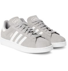 d96a412b6d25 Adidas Campus sneaker in grey suede Suede Sneakers