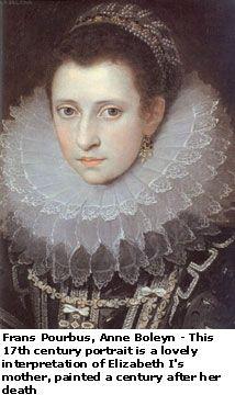 Anne Boleyn, mother of Queen Elizabeth I