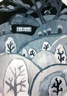 "Студия изобразительного искусства ""МАТИСС"" Painting For Kids, Art For Kids, Children Painting, Facebook Art, Ukrainian Art, My Art Studio, Christmas Paintings, Winter Art, Baby Art"