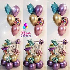 Birthday Bouquet🎈🎉 Happy birthday to 🤗🎉🎈 Birthday Bouquet, Number Balloons, Balloon Bouquet, Birthday Balloons, Balloon Decorations, Ornament Wreath, Art Decor, Happy Birthday, Party