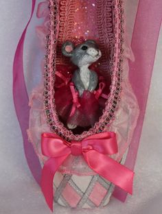 Check out this item in my Etsy shop https://www.etsy.com/listing/489346059/decorated-pointe-shoenutcracker-mouse
