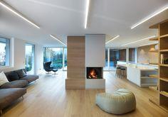 MP apartment di Burnazzi Feltrin Architetti | Locali abitativi