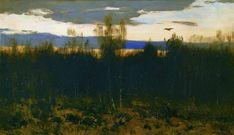 Dessinez (2), 1899 de Isaac Levitan (1860-1900, Lithuania)