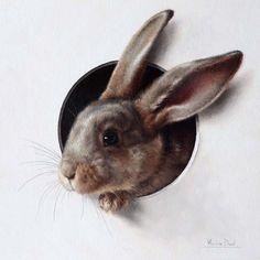 Marina Dieul. Мышки, кошки и зверушки trompe l'oeil: philologist