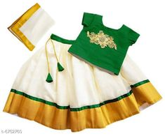 Lehenga Cholis Elegant Banglori Silk Kids Lehenga Choli Top Fabric: Taffeta   Lehenga Fabric: Georgette Dupatta Fabric: Georgette Sleeve Length: Short Sleeves Top Pattern: Embroidered Dupatta Pattern: Zari Woven Multipack: 1 Sizes:  4-5 Years (Bust Size: 22 inCholi Length Size: 12 inLehenga Waist Size: 22 in Lehenga Length Size: 25 in Duppatta Length Size: 1.5 m)  5-6 Years (Bust Size: 23 inCholi Length Size: 12.5 inLehenga Waist Size: 23 in Lehenga Length Size: 26 in Duppatta Length Size: 1.5 m)  3-4 Years (Bust Size: 20 inCholi Length Size: 11.5 inLehenga Waist Size: 20 in Lehenga Length Size: 23 in Duppatta Length Size: 1.5 m)  6-12 Months (Bust Size: 18 inCholi Length Size: 10 inLehenga Waist Size: 18 in Lehenga Length Size: 18 in Duppatta Length Size: 1.5 m)  6-7 Years (Bust Size: 24 inCholi Length Size: 13 inLehenga Waist Size: 24 in Lehenga Length Size: 27 in Duppatta Length Size: 1.5 m)  2-3 Years (Bust Size: 19 inCholi Length Size: 11 inLehenga Waist Size: 19 in Lehenga Length Size: 20 in Duppatta Length Size: 1.5 m)  Country of Origin: India Sizes Available: 6-9 Months, 6-12 Months, 9-12 Months, 12-18 Months, 18-24 Months, 0-1 Years, 1-2 Years, 2-3 Years, 3-4 Years, 4-5 Years, 5-6 Years, 6-7 Years, 7-8 Years, 8-9 Years, 9-10 Years   Catalog Rating: ★4.2 (13576)  Catalog Name: Cutiepie Stylish Kids Girls Lehanga Cholis CatalogID_1076864 C61-SC1137 Code: 414-6752760-1401