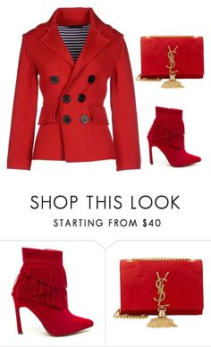 """""""Accessories"""" by carlafashion-246 ❤ liked on Polyvore featuring Yves Saint Laurent and Dsquared2"""