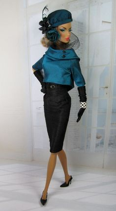 Abysse for Silkstone Barbie and Victoire Roux. $130.00, via Etsy.