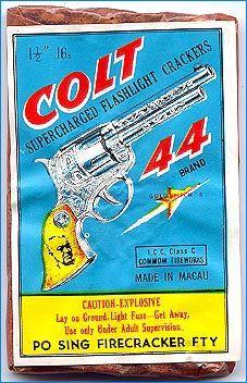 Vintage Fireworks  Colt 44