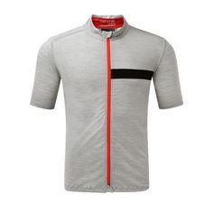 Available NOW!  ashmei Cycle Jersey - Merino/Carbon dries 10x faster than 100% Merino.