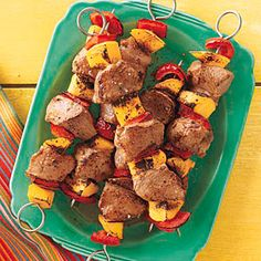 Pork and Mango Kebabs Recipe