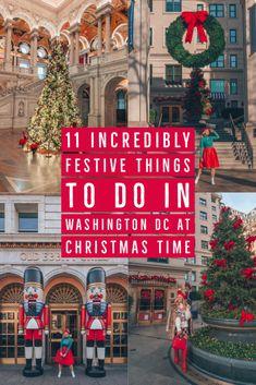 Christmas In Dc, Christmas In America, Christmas Things To Do, Christmas Travel, Christmas Vacation, Willard Hotel, Washington Dc Travel, Visit Washington Dc, Christmas Getaways