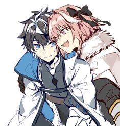 Charlemagne and Astolfo - Anime Fate Zero, Astolfo Fate, Manga Anime, Comic Manga, Anime Art, Fate Stay Night, One Punch Anime, Anime Friendship, Anime Traps