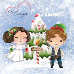 Christmas Engagement, Christmas Wedding, Star Wars Princess Leia, Disney Princess, Disney Pixar Up, Disney Characters, Star Wars Christmas, Personalised Christmas Cards, Birthday Cards