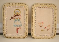 amy's angry chickens by Hillary Lang, via Flickr