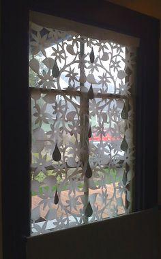 hutch studio: The Windows of Hutch. What a fantastic idea for holiday windows.