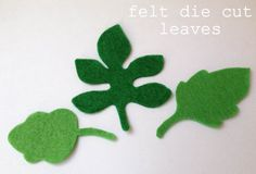 30 felt leaves \\ felt die cuts \\ 40 colours Felt Succulents, Shops, Felt Leaves, Felt Flowers, Safari, Butterfly, Colours, Embroidery, Plants