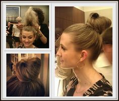 DIY Easy Breezy Hair Knot