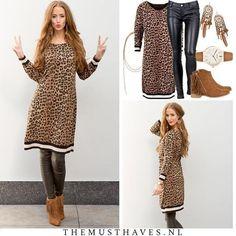 🐯 Roaaaaaar....!! HELL YEAH! De Leopard Tuniek shop je vanaf NU in een nieuwe kleur!! ♪♫♪ Wacht niet te lang, de vraag is MEGA MEGA groot! Love XX  #themusthaves #leopard #tigerprint #printedtuniek #printed #geprint #print  #luipaard #tijgerprint #fashion #trendy #animal #dierenprint