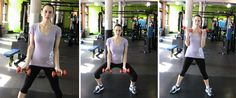 Sumo Squat Uprow From Body Blitz #CrunchGym