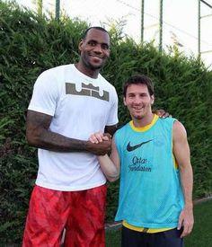 Lebron James & Lionel Messi