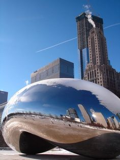Cloud Gate, Anish Kapoor, Chicago.