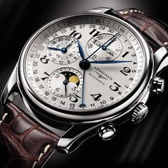 Longines : Master Collection Moon Phase Chronograph