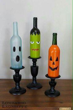 Scary wine bottles