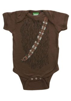 Star Wars I Am Chewbacca Costume Infant Baby Romper Snapsuit 6 Months: This brown romper features an officially licensed Star Wars Chewbacca costume design. Bodysuit features snap closure for easy changing and is made of cotton. Funny Baby Costumes, Baby Costumes For Boys, T Shirt Costumes, Twin Costumes, Bodysuit Costume, R2d2 Costume, Chewbacca Costume, Star Wars Tattoo, Star Wars Baby Clothes