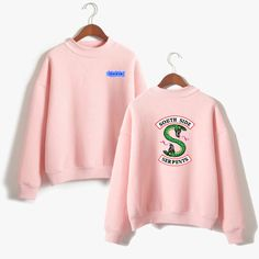 Buy BTS Riverdale Pink Women and men Hoodies Sweatshirts Fashion Hooded Mulheres Long Sleeve Korean Sweatshirt Casual Clothing XXS .....Check Link