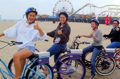 Private Electric Bike tour of Santa Monica and Venice Beaches Mountain Bike Tour, Muscle Beach, Venice Canals, Beach Town, Skate Park, Venice Beach, Santa Monica, Touring, North America