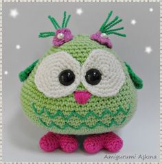 owl.Making this! with steelwool inside and using as a pin cushion the steelwool will sharpen pins