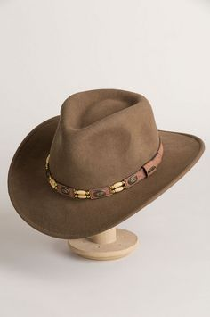 9a1d1c6e2d8 Outback Crushable Wool Felt Cowboy Hat