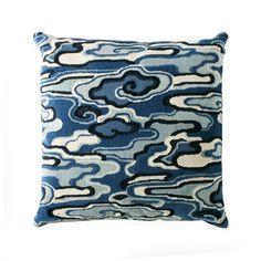 Alto China Blue Pillow
