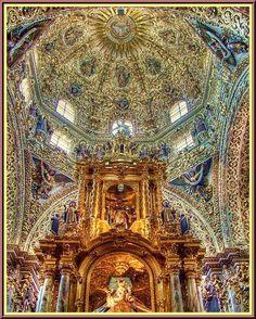 Capilla de la Virgen del Rosario (Iglesia de Santo Domingo) Puebla de los Ángeles,México