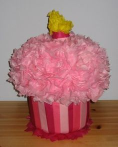 Cupcake Birthday Party Supplies - All Things Cupcake Cupcake Pinata Cupcake Party, Birthday Cupcakes, Birthday Fun, 1st Birthday Parties, Birthday Party Decorations, Birthday Ideas, Birthday Pinata, Slumber Parties, Cupcake Centerpieces