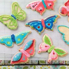 Butterfly Cookie Cutters - Nothing says spring has sprung quite like butterflies fluttering around the yard (or your kitchen!).