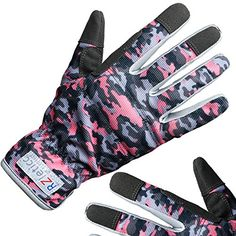 Perfect For Garden and Household Tasks Medium, Rose Garden Floral 2 Pairs Ladies Gardening Gloves - Lightweight and Durable Work Gloves for Women Best Gardening Gift for Women Buy on Sale NOW