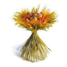 Zabbal és búzával körbe kötött szárazvirág csokor - sárga Dandelion, Flowers, Plants, Dandelions, Plant, Taraxacum Officinale, Royal Icing Flowers, Flower, Florals