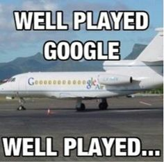 Google Humor | From Funny Technology - Community - Google via Tabitha Christina