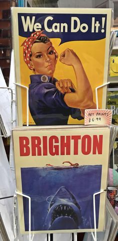 My favourite Brighton shops : a selection of vibrant independent traders Brighton Shops, Visit Brighton, Bognor Regis, Chichester, We Can Do It, Beautiful Images, The Selection, Vibrant, My Favorite Things