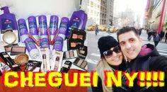 Viagem para Nova York: Um pouco do nosso primeiro dia em NY, comprinhas no Walmart, Jack's 99, Bryant Park e muito mais!