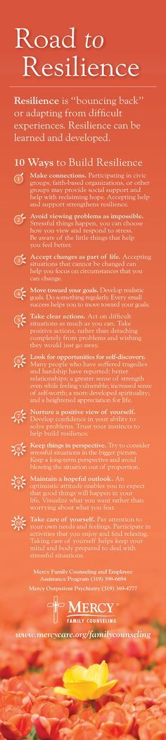 Tips for the road to #resilience to help you recover from a difficult experience. -1