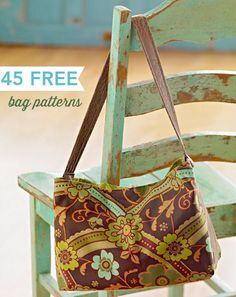 Purses, totes, gift bags, and shoulder bags--we have all the free bag patterns you need for an everyday tote or a stylish accessory!