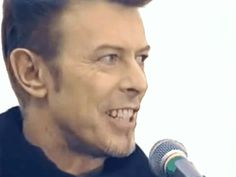 """yourfluffiestnightmare: """" something about David Bowie giving speeches is so comforting """""""