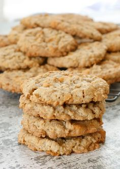 Oatmeal Butterscotch Cookies are an instant favorite with everyone who tastes them. These cookies stay soft and chewy for days. Oatmeal Butterscotch Cookies, Soft Chocolate Chip Cookies, Oatmeal Cookie Recipes, Butterscotch Chips, Chocolate Chip Oatmeal, Oatmeal Cookies, Cookie Desserts, Cookie Cups, Chocolate Chocolate