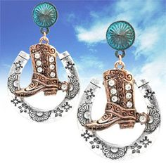 Visit: hipandcoolcliponearringstwo.com and receive up to 30% off. PIERCED-SILVER, ROSE GOLD, TURQUOISE BOOT & HORSE SHOE EARRINGS  $15.99 http://hipandcoolcliponearringstwo.com
