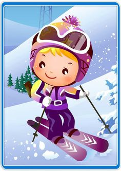 Bible 2, Winter Activities For Kids, Busy Book, Scrapbooking, Winter Fun, Berlin Germany, Girl Cartoon, Nativity, Clip Art